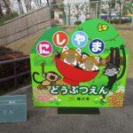 動物園の顔出しパネル