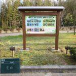 公園の野鳥看板