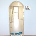 保育園のトイレ札